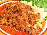 Рецепта Паприкаш от телешко месо